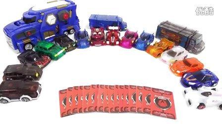 魔幻车神 儿童玩具变形金刚 打开邮件卡14多种玩具转型 饶有兴致儿童玩具 儿戏 魔幻车神 [迷你特工队之英雄的变形金刚]