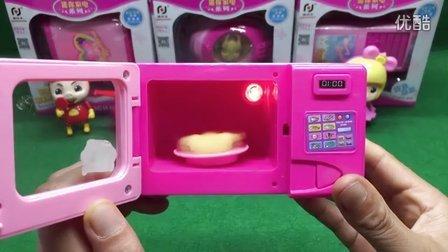 猪猪侠开家电超市 邀请乐迪超级飞侠一起玩微波炉玩具