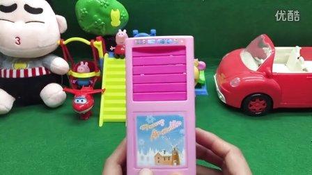 玩趣屋蜡笔小新和大家一起玩转小家电系列之空调