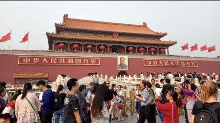 实拍:2016十一国庆天安门广场游人如织·迅音161001