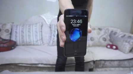 iphone7亮黑色128G开箱 真的漂亮