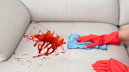 国外疯狂的暴力牛人是如何去除沙发上的污渍