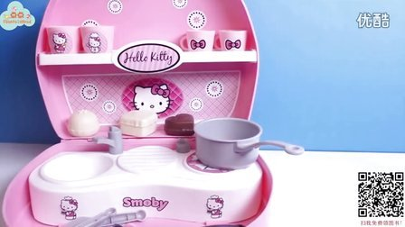 [英文玩具]hello kitty的迷你厨房-小小蛋糕店