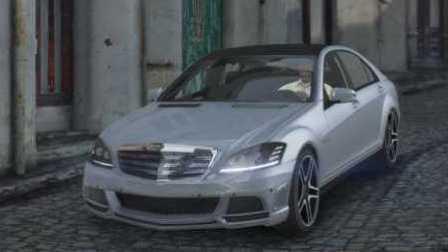 《GTA5》汽车mod #174奔驰 S65 AMG【豪华跑车】