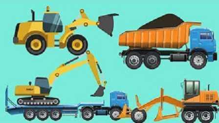 最新挖掘机表演视频大全 儿童玩具工程车 托马斯