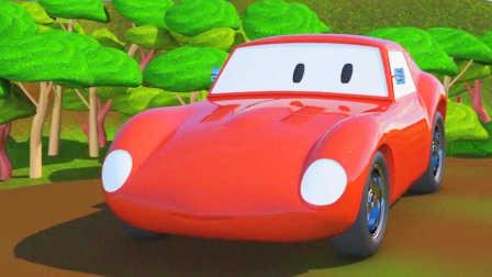赛车斯彼得 第7集 丛林里的比赛