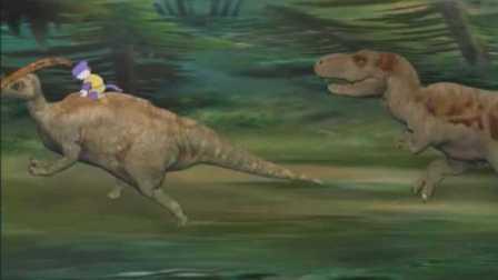 恐龙 蓝猫大冒险6期 蓝猫龙骑团勇闯 侏罗纪 砍杀大恐龙 游戏猫解说