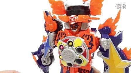 新的玩具概述 一系列新的儿童玩具  机器人的攻击模型  恐龙与一个机器人 电力别动队忍者队DX火山景 [迷你特工队之英雄的变形金刚]