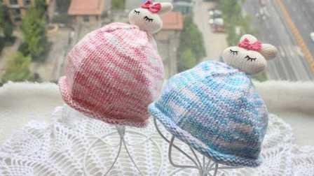 「第56集」萌系手作 宝宝兔子帽的织法毛线帽