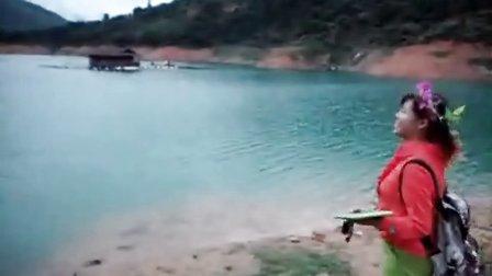 乌溪江上快乐的小洋伞