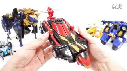 电力别动队围棋破坏者巴斯特机CB-01 DX王牌玩具 [迷你特工队之英雄的变形金刚]