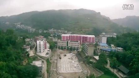 思南县青杠坡中学航拍
