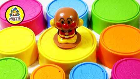 新玩具驾到 2016 面包超人海底小纵队彩虹杯找吃的  157