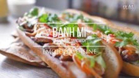 [Jennysta小吃货] 越南三明治 Banh Mi Vietnamese Sandwich #ASMR