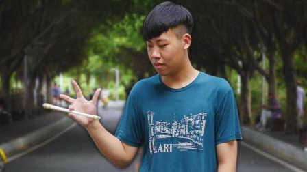 课堂游戏玩成世界亚军,中国少年的极限转笔 | 敢玩顽童04
