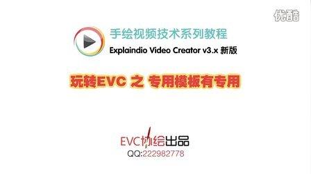 【新版EVC】玩转EVC之专用模板有专用