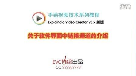 【新版EVC】关于软件界面中链接通道的介绍