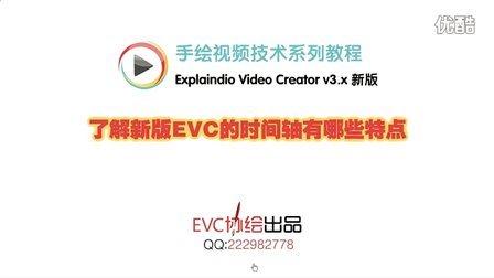 【新版EVC】了解新版EVC的时间轴有哪些特点