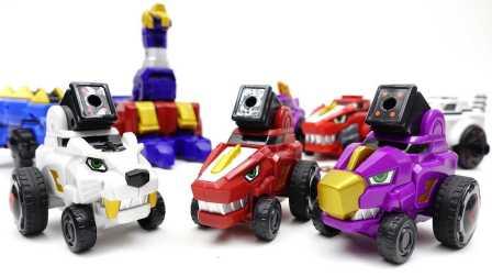 联合机器人 迪诺核心 恐龙军团3攻击者和超Debuster玩具 汽车人装配  变形金刚 TRANSFORMER KIDS