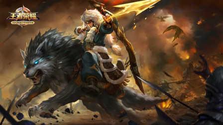 【陈老湿解说】王者荣耀成吉思汗:半打野极限发育,超神太轻松
