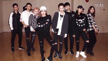 韩舞:EXO _LOTTO 舞蹈练习 (天舞)温哥华