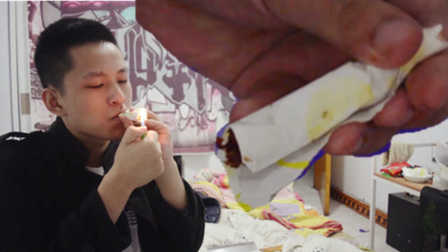 【不作会死】用魔鬼辣椒制作的卷烟 吸一口就能要半条命