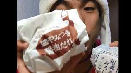 【公介小号】日本肯德基秋天限定和风炸鸡汉堡和炸鸡 炸酱油味 味道如何