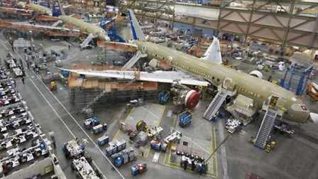 揭秘波音公司如何在9天内高效率地建造出波音737飞机