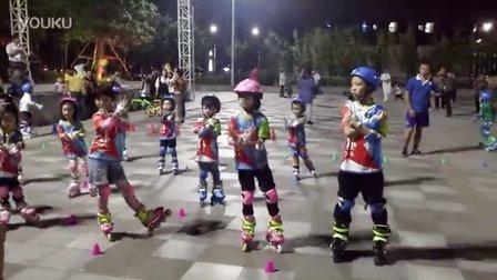 顺德炫动轮滑儿童培训班舞蹈课程