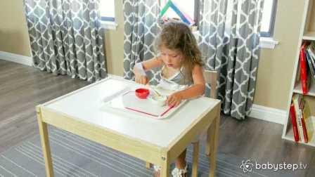 Babystep | 为握笔准备—运豆子
