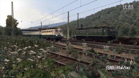 德国BR140电力机车哈根锡根货运任务