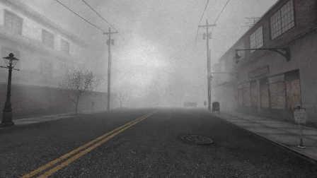 寂静岭:斗篷草 Silent Hill: Alchemilla【解谜向心理恐怖游戏】实况解说03 | 无人街区与废弃公寓