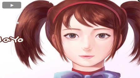 【蓝尼玛】有爱大神-速度彩绘 CSO同人画赏(安娜)
