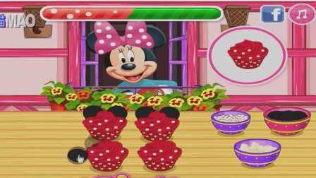 米奇妙妙屋 米妮做蛋糕 米奇 迪斯尼游戏动画片 米老鼠 汤姆猫 游戏猫解说