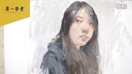 杭州厚一学堂色彩名师李于建色彩头像教学示范