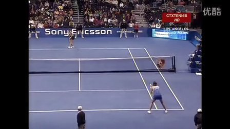 2005WTA洛杉矶年终总决赛小组赛 莎拉波娃VS达文波特 (自制HL)
