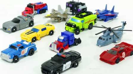 种迷你特工队发射器 玩具车机器人爆裂飞车魔幻车神 变形玩具
