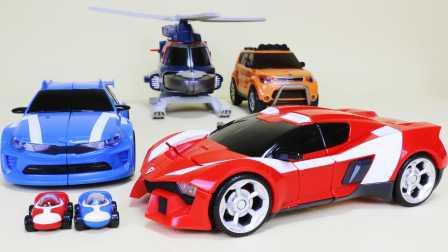 儿童玩具 我的世界变形金刚玩具 汽车人装配 第三季魔幻车神 最强战士之迷你特工队  [迷你特工队之英雄的变形金刚]
