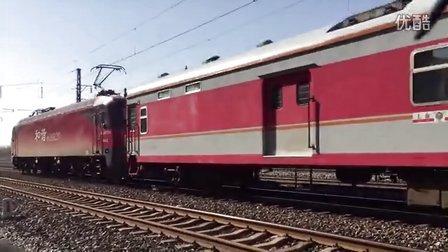 沈阳北-上海k190次列车辽阳一道停车