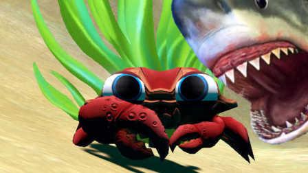 【XY小源】海底大猎杀 模拟螃蟹君 话说怎么解锁王螃蟹