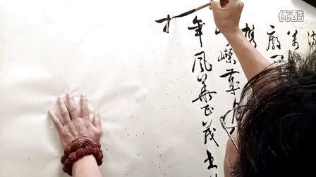 周小军书法-草书-毛泽东沁园春长沙-无背景音