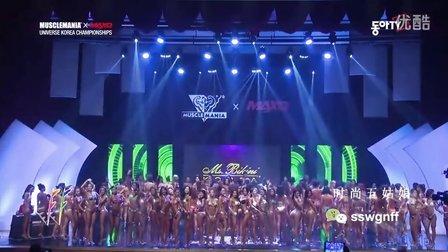 韩国女子健美比赛总决赛下半场,这阵仗没谁了!