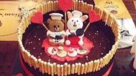 亲子小游戏手工制作生日蛋糕