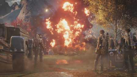 【Q桑制造】《战争机器4》疯狂最高难度攻略解说 第03集