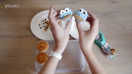 【中英双语】纯正英文母语教小朋友制作万圣节饼干怪物小蛋糕