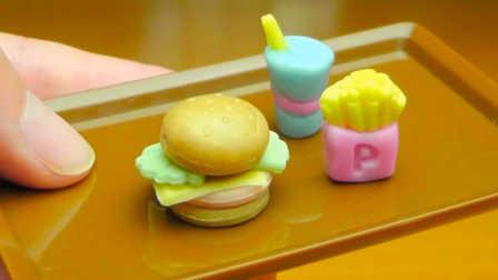 芝士汉堡软糖-日本食玩-迷你厨房 091
