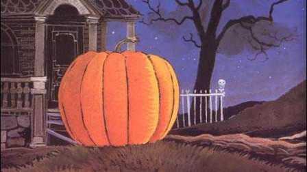好玩!看幽灵、木乃伊、吸血鬼如何一起拔萝卜《万圣节的大南瓜》