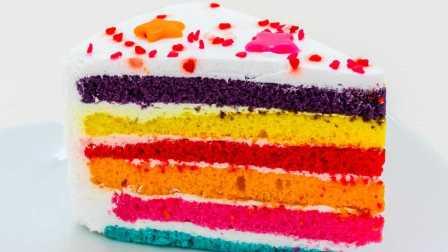 鸡蛋狂魔-如何做彩虹蛋糕