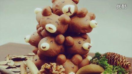 小熊面包树的做法(面包叔叔烘焙教程)