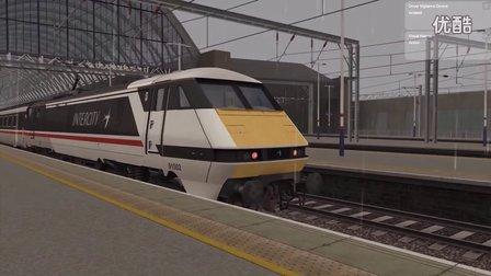 【模拟火车2017】【高速列车】AP Class91最高难度任务及车辆介绍